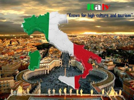 Explain The Geological Structure And Features Of Italy With Editable Maps | Travel | Scoop.it