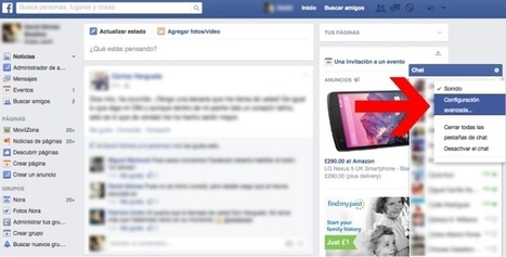 Cómo ocultar que estamos conectados a ciertos amigos en el chat de Facebook | Las TIC en el aula de ELE | Scoop.it