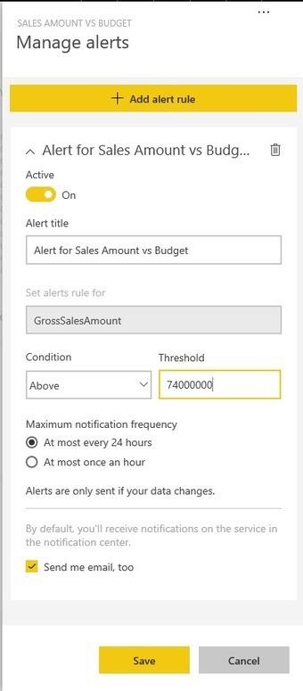 Power BI : Recevez des alertes lorsque vos données atteignent certaines cibles – Le CFO masqué | Intelligence d'affaires | Scoop.it