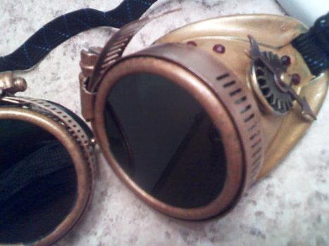 Steampunk Goggles | Steampunkerie | Scoop.it