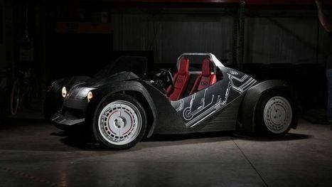 Strati, el primer coche eléctrico del mundo impreso en 3D / EcoInventos.com | TECNOLOGÍA_aal66 | Scoop.it