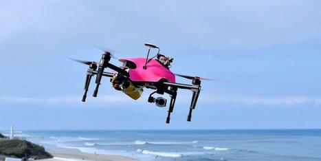 Le drone-sauveteur landais remporte le premier prix du concours Lépine | Santé en Aquitaine | Scoop.it