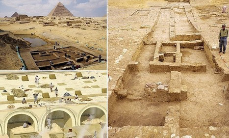 Ancient Egyptian ruins of what was once a bustling barracks and port unearthed ... - Daily Mail | Archaeology News | Scoop.it