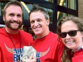 Mystery of $100 bills stashed in stores solved: It's a radio promo - TODAY.com | Kickin' Kickers | Scoop.it