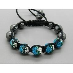 Shamballa pas cher,Fashion Shamballa Bracelet With 10mm Double Colors CZ Rhinestone 16 | Bracelet | Scoop.it