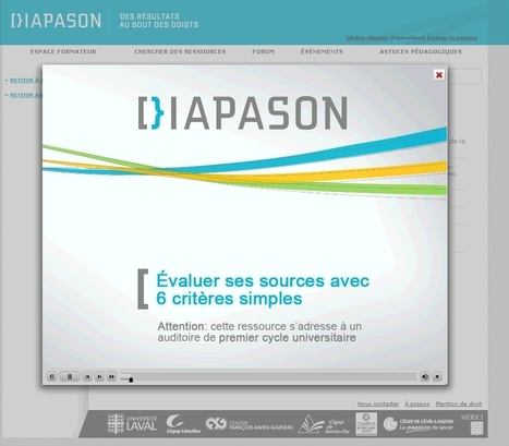 Diapason, des ressources éducatives libres sur la culture de l'information - | -thécaires are not dead | Scoop.it