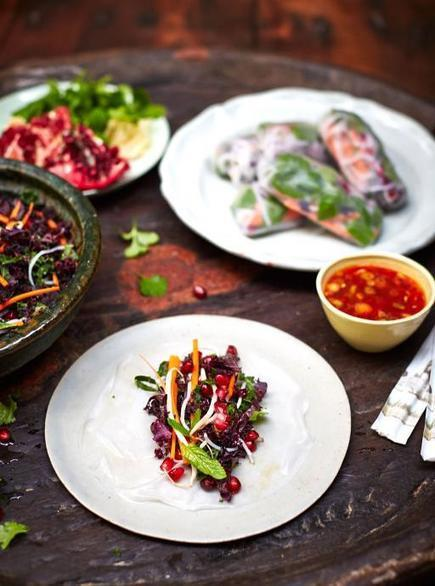 Vegan summer rolls | Jamie Oliver | Food | Jamie Oliver (UK) | My Vegan recipes | Scoop.it