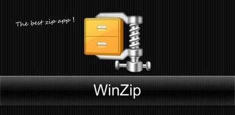 Winzip arrive enfin en version officielle sur Android | Les Applications Android | Android Apps for EFL ESL | Scoop.it