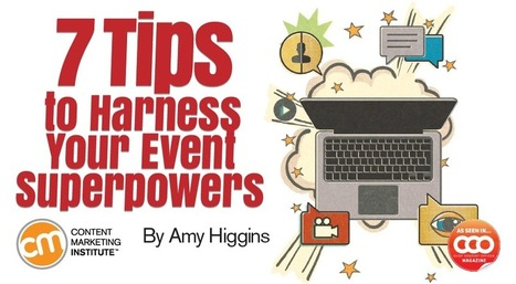 7 Tips to Harness Your Event Superpowers | Dyslexia, Dyspraxia, ADD, ADHD, LD, Autism (etc. conspiracy labels out there)  Education Tools & Info | Scoop.it
