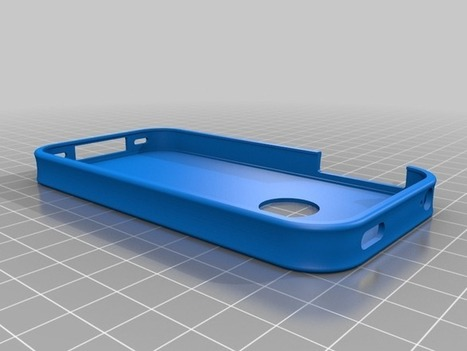 iPhone 4/4S cover by alan89 - Thingiverse | Magik Applez | Scoop.it