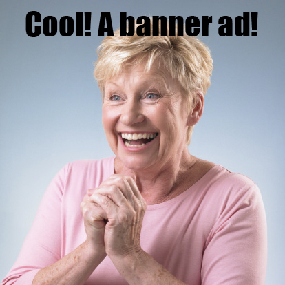 Cool! A banner ad! | funny-marketing-ads | Scoop.it