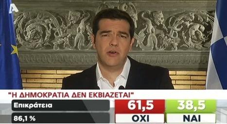"@atsipras ""Η Δημοκρατία δεν εκβιάζεται"" || ""No se chantajea a la democracia"" #dimopsifisma #greferendum #oxi vía @fernandicoblaya | EURICLEA | Scoop.it"