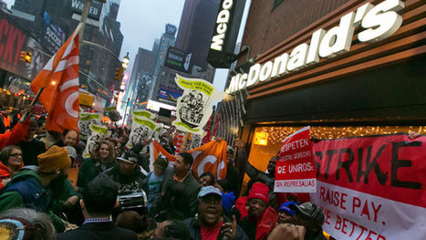 12 Fast Facts About Today's Fast Food Strike | Daily Crew | Scoop.it