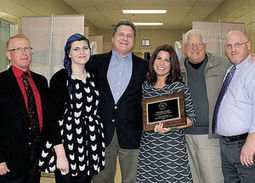 Cope earns Media Specialist of the Year for 2015 - Cherokee Ledger | K-12 School Libraries | Scoop.it