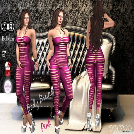 Body Bruna Pink with Mesh Body Appliers Group Gift by ORCHID STORE | Teleport Hub - Second Life Freebies | Second Life Freebies | Scoop.it