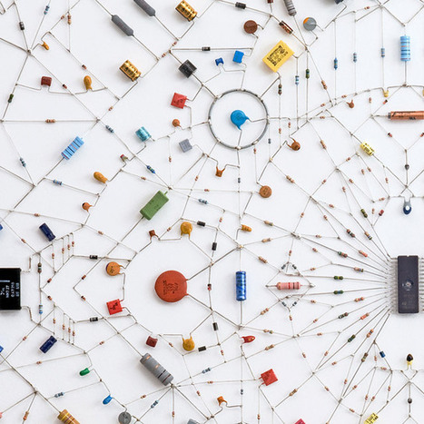 Technological Mandalas Made from Soldered Computer and Radio Components | Colossal | art | Scoop.it