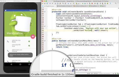 Google Launches Android Studio 2.0 With Improved Android Emulator And New Instant Run Feature | Grow Social Net | Scoop.it