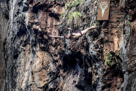 Red Bull Cliff Diving    Red Bull   sport   Scoop.it