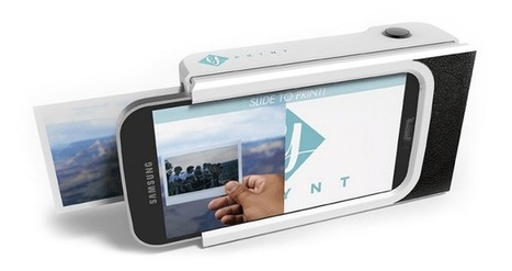 New Prynt case turns smartphones into Polaroid camera | Technology and Gadgets | Scoop.it