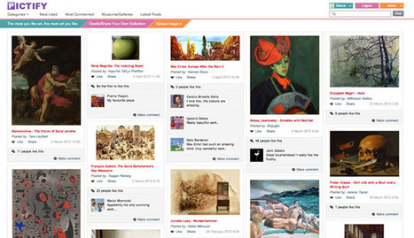 Pictify: Like Pinterest for cultured, arty types and gallery owners : Shiny Shiny | Everything Pinterest | Scoop.it