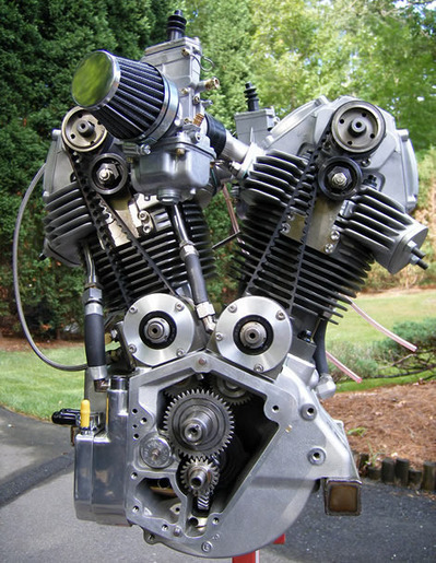 Today's DejaView from 2007 - DesmoHarley – Italian American V-Twin Completed - Kneeslider.com | Ductalk Ducati News | Scoop.it