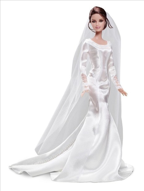 My Dolls :: A Blog About Barbie and Other Fashion Dolls » Twilight Barbie: Bella and Edward Wedding | Playscale Picks | Scoop.it
