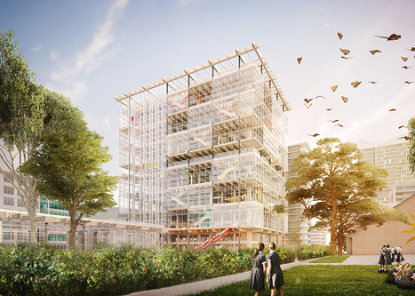 Education - Grimshaw unveils plans for high-rise school complex in Sydney   L'usager dans la construction durable   Scoop.it
