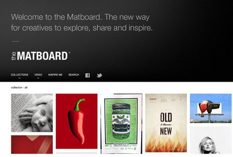 Should designers move from Pinterest to Matboard? | Inspiration | Creative Bloq | Design & Media | Scoop.it
