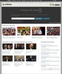 Sete milhões de notícias na Máquina do Tempo do Sapo | Meios & Publicidade | REACTION NEWS | Scoop.it