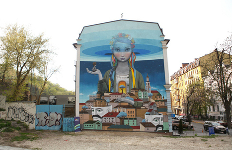 Street Artists Seth Globepainter and Kislow Paint a better tomorrow in Ukraine | Street Art Planet | Scoop.it