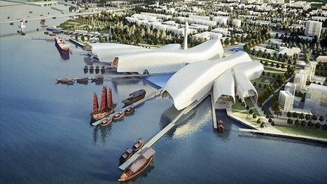 [Beijing , China] Cox Rayner Architects, Winner of the National Maritime Museum of China - Architecture Lab | The Architecture of the City | Scoop.it