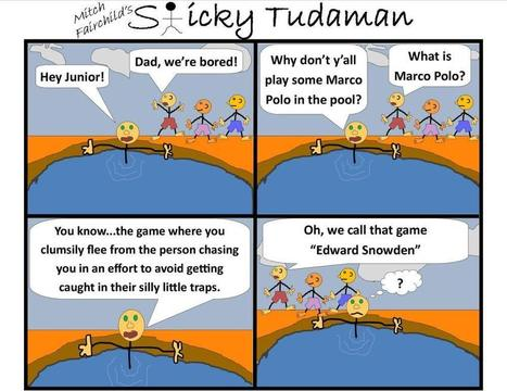 Sticky Tudaman: Edward Snowden | Political Humor | Scoop.it