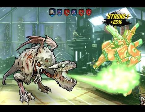 Kobojo lance son nouveau jeu, Mutants : Genetic Gladiators | Jeu Video | Scoop.it