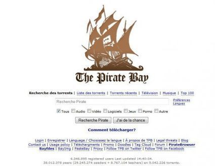 The Pirate Bay lance PirateBrowser, un navigateur Internet anticensure | Research and Higher Education in Europe and the world | Scoop.it