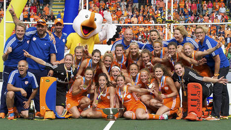WOMEN Final: Netherlands women crowned Rabobank Hockey World Cup champions | Hockey World Cup 2014 | Scoop.it