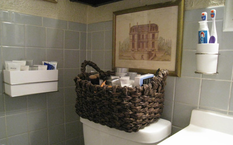 Lovely Bathroom Organizing Products: Command Décor Review | Carol Ruth Weber | furnishing | Scoop.it