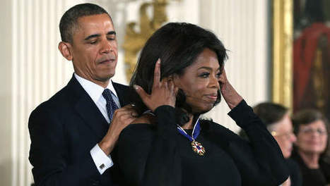 Obama eert Oprah Winfrey met Medal Of Freedom | actua Julie | Scoop.it