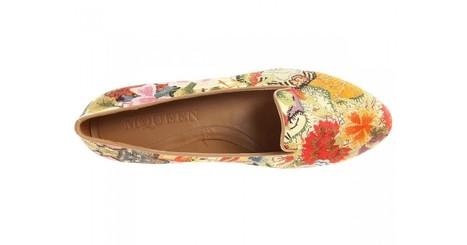 Alexander McQueen Floral Patchwork Slip-On - (Rose/Light Green) | Luxury Lifestyle Trend | Scoop.it