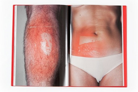 French artist Thomas Mailaender sunburns photographs onto skin... | Art for art's sake... | Scoop.it