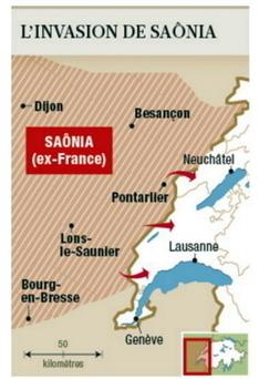 Quand la Suisse imagine une invasion par la France   Le monde est flou   Scoop.it