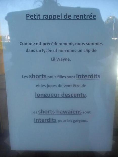 Ce matin, devant un lycée ! | Journaliste - Paris | Scoop.it