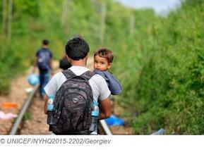 Crisis de refugiados: más de 130.000 niños han pedido asilo en la UE en 2015 | UNICEF Comité Español | Un poco del mundo para Colombia | Scoop.it