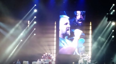 "Fan fronts Foo Fighters for cover of Rush's ""Tom Sawyer"" -- watch 