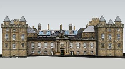 Palace of Holyroodhouse. Edimburg. UK by wysywyg - 3D Warehouse | 3D Model | Scoop.it