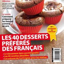 Les desserts préférés des Français : chocolat et classicisme à l'honneur   i-diététique   Actu Boulangerie Patisserie Restauration Traiteur   Scoop.it