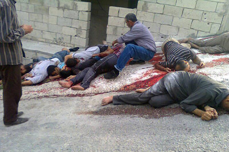 EXERCISE :: How to Wash #FSA Crimes? »» Grisly Killings in Syrian Towns Dim Hopes for Peace Talks | Saif al Islam | Scoop.it