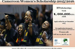 Cameroon Women's Scholarship 2015/2016 | Professional development opportunities | Scoop.it