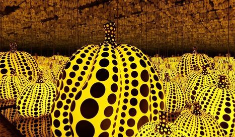Review: Yayoi Kusama Reflects Back Our Narcissism at Victoria Miro | Artinfo | Art Contemporain | Scoop.it