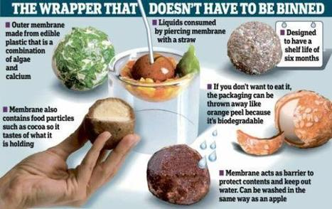 Des emballages alimentaires comestibles : miam ? | agro-media.fr | Actualité de l'Industrie Agroalimentaire | agro-media.fr | Scoop.it