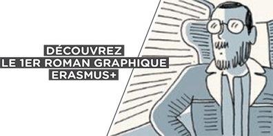 «Carnet d'Europe» : découvrez le 1er roman graphique Erasmus +   (FLE) Français langue étrangère et TICE   Scoop.it